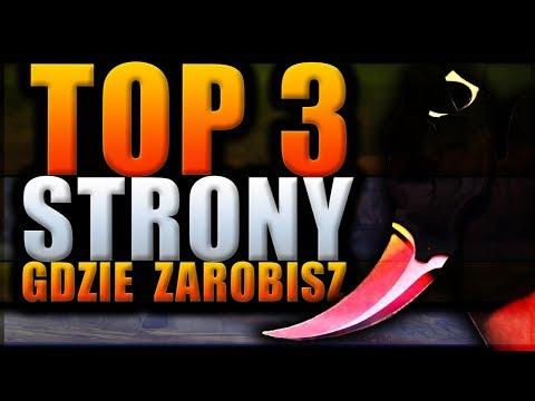 TOP 3 STRONY NA KTÓRYCH ZAROBISZ   DARMOWE SKINY   JAK ZARABIAĆ W CS:GO NA RULETKACH!  BEZ DEPOZYTU!