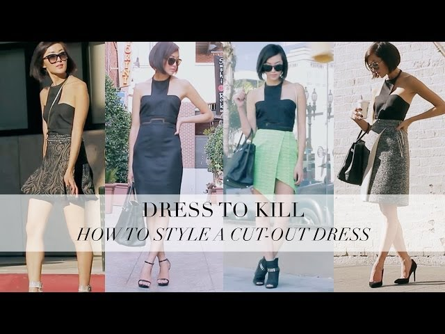 How To Style A Cut-Out Dress- Glamour Dress to Kill
