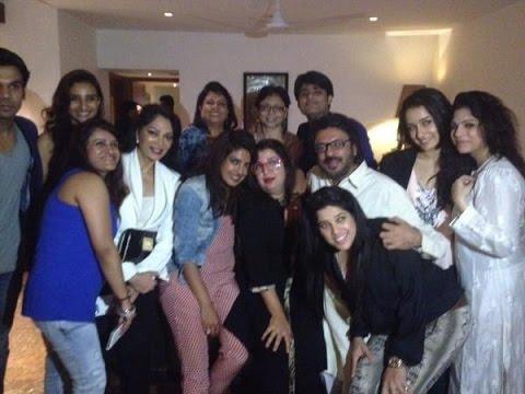Bollywood Stars At Priyanka Chopra Birthday Bash