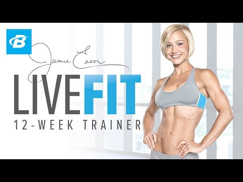 LiveFit with Jamie Eason Fitness app screenshot for Android