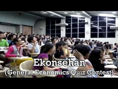 UPLB Economics Society Activity Video