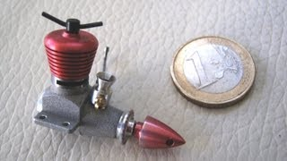 MICRO DIESEL  model engine 0.098 CC for mini rc plane