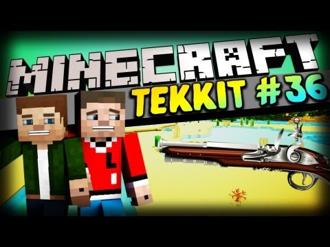 AN DIE WAFFEN! - Folge 36 - Minecraft Tekkit Let's Play