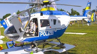 2x EC135 EUROCOPTER RC MODEL HELICOPTER DEMO FLIGHT!! *REMOTE CONTROL HELICOPTER