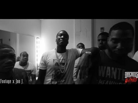 Meek Mill Freestyles Backstage On His