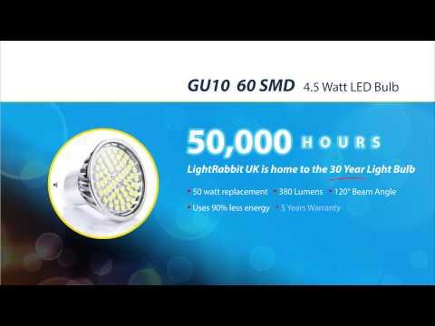 4.5W GU10 LED Bulb By LightRabbit