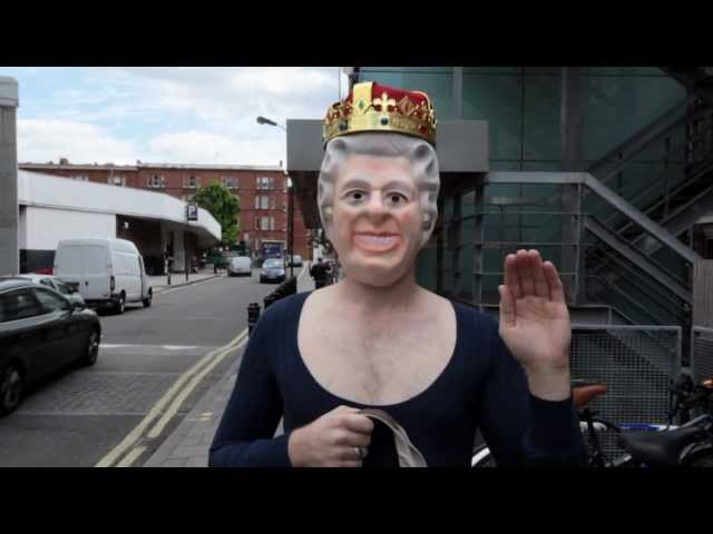 The Queen goes to Bushstock