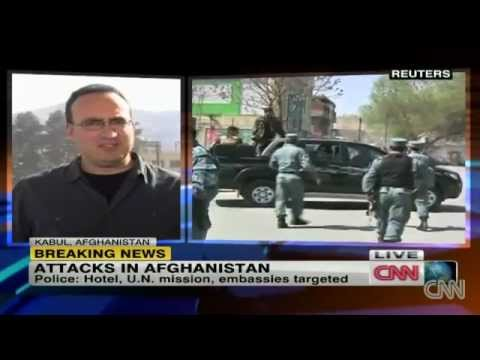 Taliban launch coordinated Afghanistan assaults on diplomats & NATO HQ