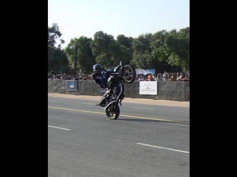 Ghost Riders Bike Stunts At Rajpath Delhi