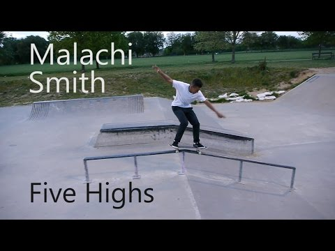 Five Highs No 30 Malachi Smith Drug Store Skateboarding