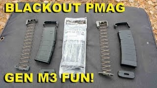 Blackout PMAG Gen M3 Fun! Compatibility Testing the New PMAG with 300 BLK