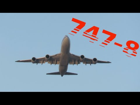 Air China 747-8 Takeoff JFK International