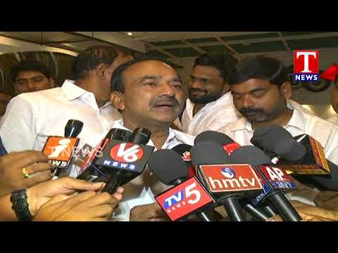 Minister Etela Rajender Launches Palato Restaurant In Hitech City | Hyderabad | T News Live Telugu