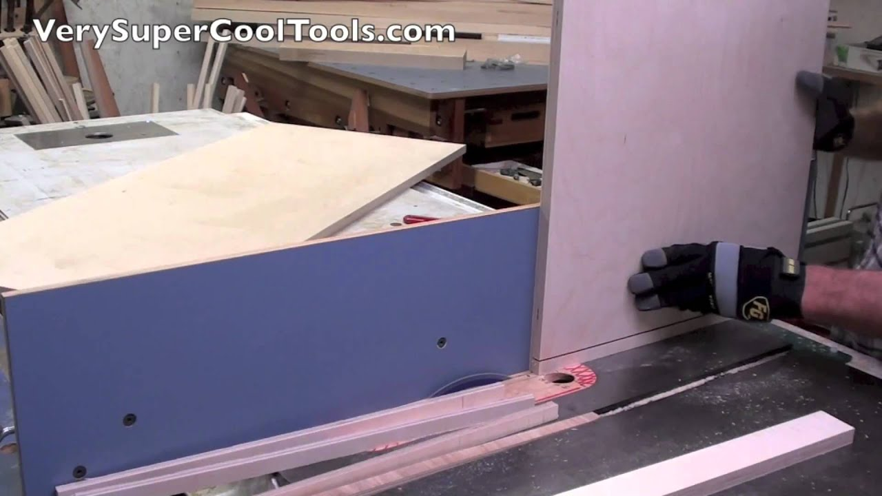 Tall Table Saw Fence Great For Vertical Cutting
