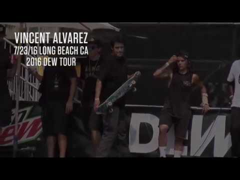 Vincent Alvarez Dew Tour 2016
