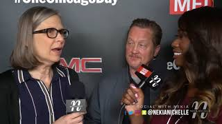 Amy Morton & Christian Stolte Talk TV Show & Halloween Characters On #ChicagoDay Red Carpet