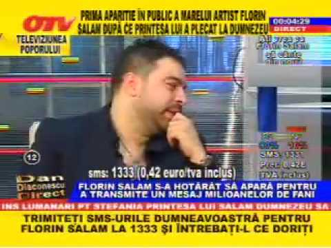 Sotia lui Florin Salam emisiune OTV