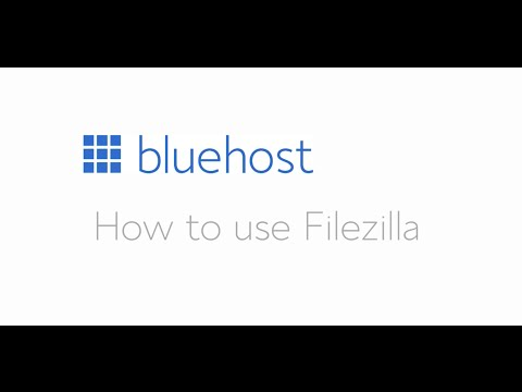 How to set up and use Filezilla
