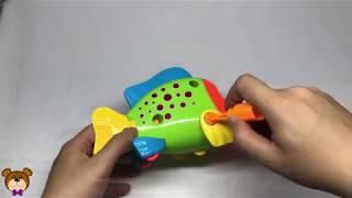 Fish Toys   Toys assembly videos for kids   BearTV