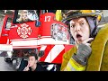 I Challenged ACTUAL Firefighters To Hide and Seek in their St...