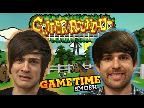 ROUND UP DEM CRITTERS (Gametime w/ Smosh)