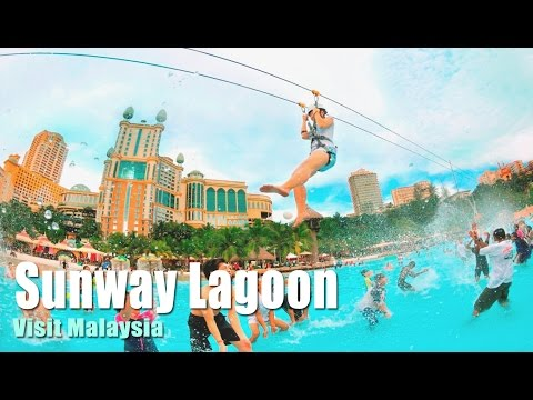 Sunway Lagoon - Trip to Malaysia - Amazing Place on Earth 2014