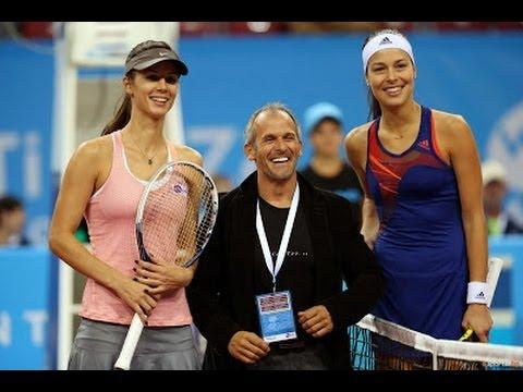 Ana Ivanovic vs Tsvetana Pironkova WTA Sofia 2013 Highlights