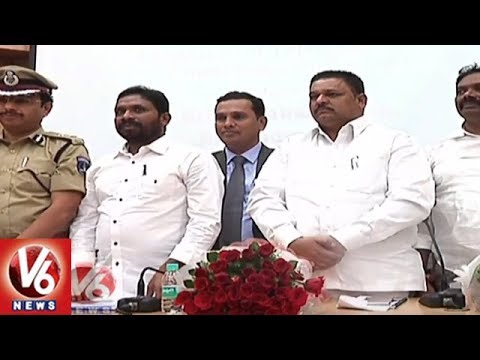 Cyberabad CP Sajjanar Conducts SC/ST Act Awareness Program | Hyderabad | V6 News