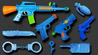 Lots of Realistic AK47 Toy Gun with Toy Revolver, Mini Toy Pistol, Ball Bullet Toy Guns Equipment