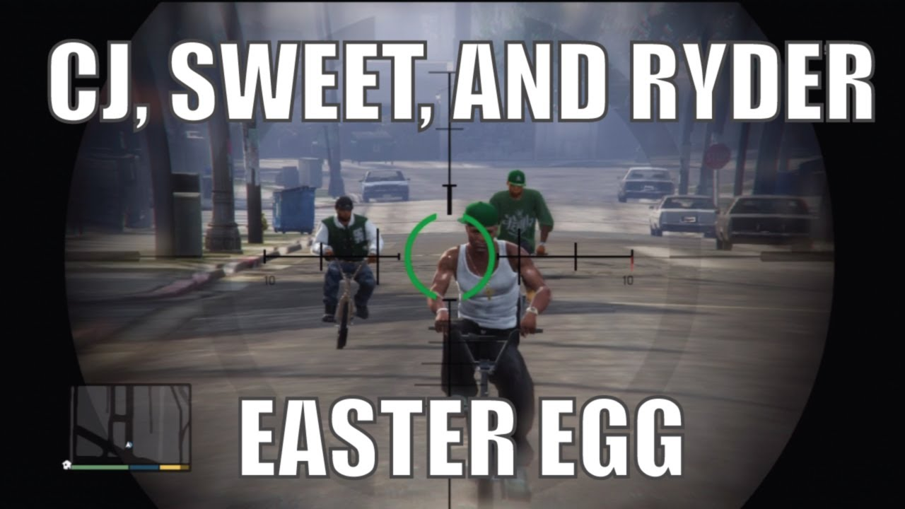 Gta 5 cj Easter Egg Gta 5 cj Easter Egg How to