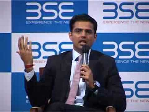 Discussion with Shri Sachin Pilot, Union Minister of Corporate Affairs, Govt. of India