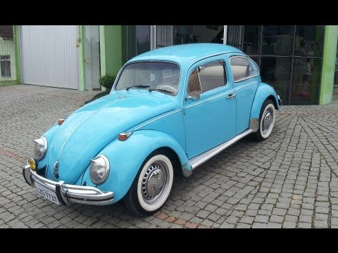 Só Fusca 1500 Original Restauração 1973 VW BUG