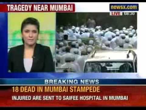 Breaking News: 18 dead in stampede in Mumbai - NewsX