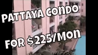 Pattaya - Condo for Rent for two hundred twenty-five Dollars