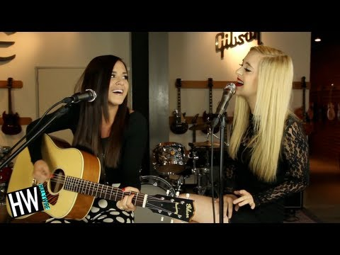 Megan & Liz - 'Release You' (Acoustic Performance)