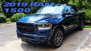 Howard Checks Out The 2019 Ram 1500 Sport!