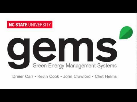 Green Energy Management Systems (GEMS) – Video Pitch