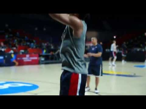Steph Curry Shooting For Gold In Madrid