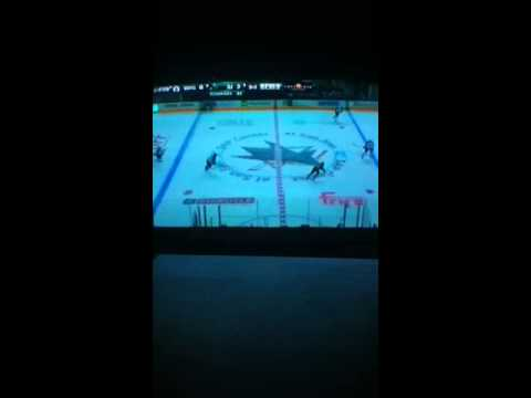 Winnipeg Jets vs San Jose Sharks 10/11/2014 part 2
