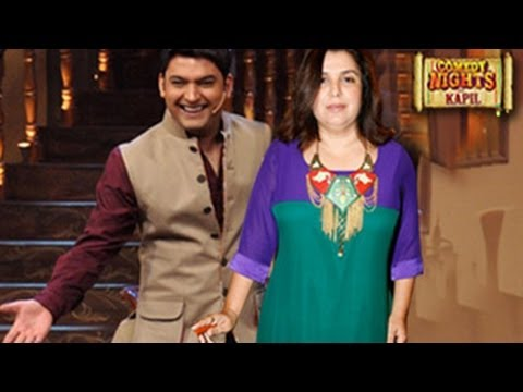 Comedy Nights with Kapil FARAH KHAN SPECIAL 18th October 2013 FULL EPISODE