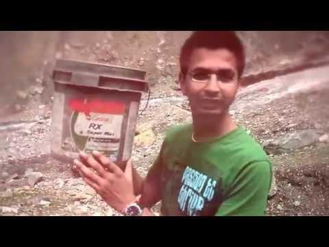 ALS Ice bucket challenge in Kashmir