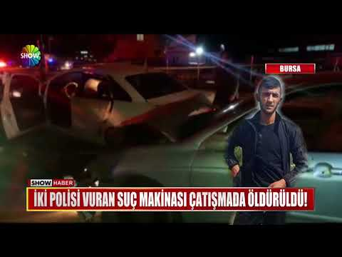 İki polisi vuran saç makinası çatışmada öldürüldü!