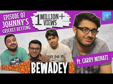 PDT Bewadey ft. carryminati | S01E07 | johnny's cricket betting  | Indian Web Series | Comedy thumbnail