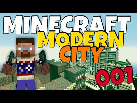 How to build a Modern City in Minecraft - Episode  1