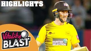 Kent v Gloucestershire | Klinger, Billings & Du Plessis Star | Vitality Blast 2019 - Highlights