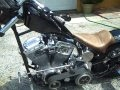 Billy Lane Custom Chopper Choppers Inc Pan Head Loud Exhaust Pipes