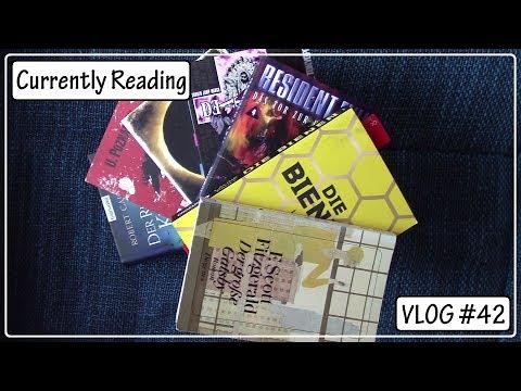 Weekly Currently Reading VLOG #42    schon wieder 5 Bücher beendet ;)
