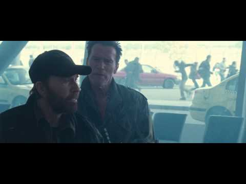 The Expendables 2 - Rambo scene (1080p high quality)