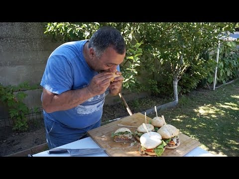 Гамбургер . Рецепт от Жоржа (1 часть )