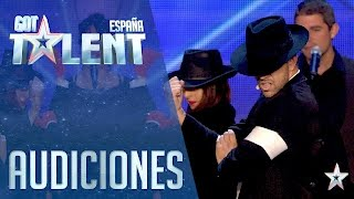 Reinterpretando a Michael Jackson   Audiciones 3   Got Talent España 2016